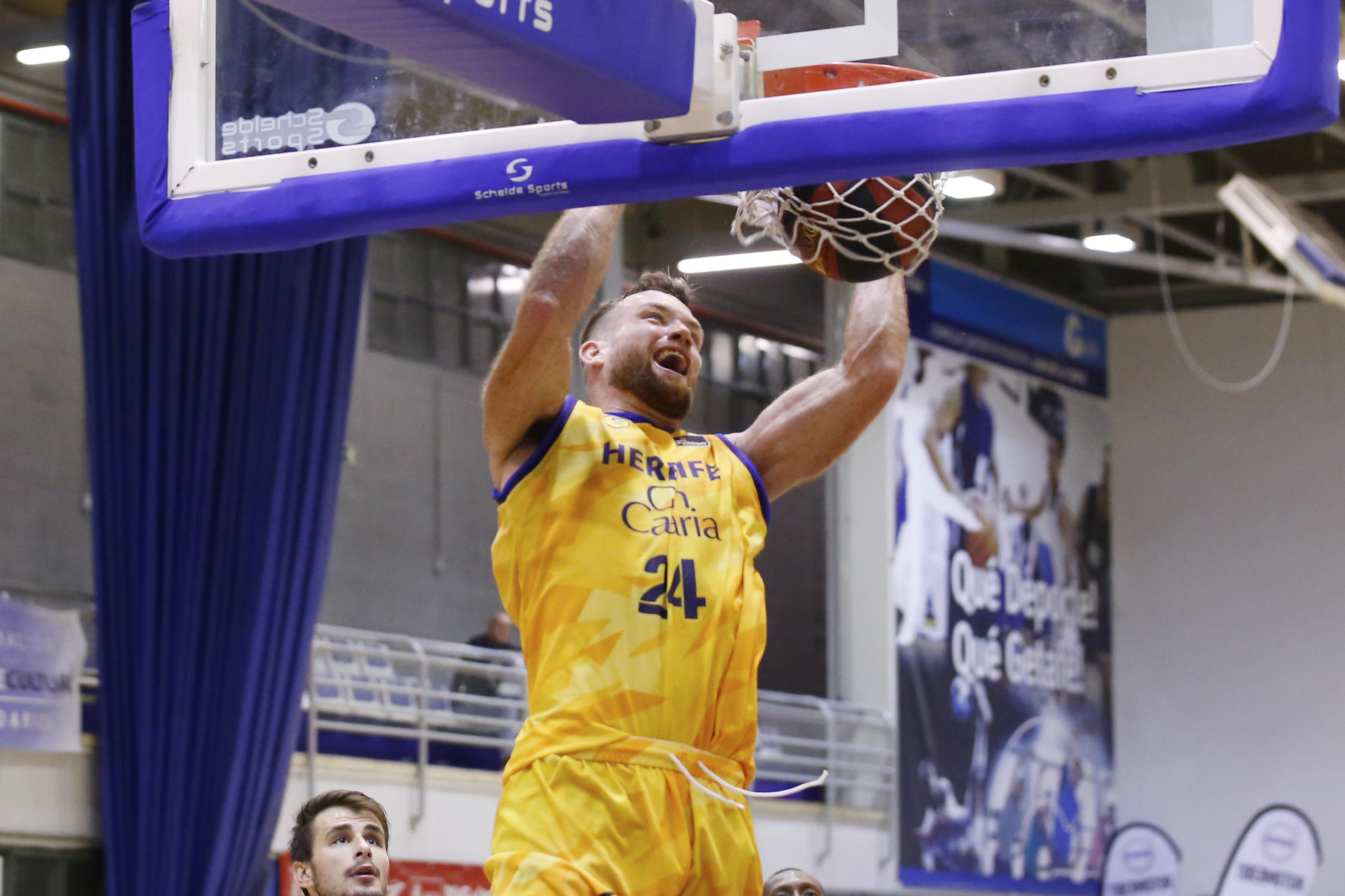 """Matt Costello: """"Es bueno tener este tipo de partidos"""" - Club Baloncesto Gran  Canaria"""